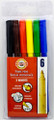 Koh-i-noor Fibre Pens Set of 6 colors