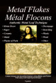 Mona Lisa Metal Flakes Gold 3g