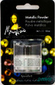 Mona Lisa Metallic Powder Platinum .34oz
