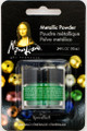 Mona Lisa Metallic Powder Emerald .34oz