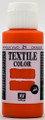 Acrylicos Vallejo Textile Color Orange 60ml