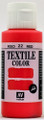 Acrylicos Vallejo Textile Color Red 60ml