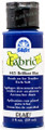 FolkArt ® Fabric™ Paint - Brush On - Brilliant Blue 2oz