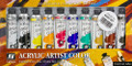 Acrylicos Vallejo Acrylic Artist Color Set of 10 colors