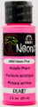 FolkArt ® Neons - Pink, 2 oz.