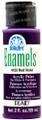 FolkArt ® Enamels™ - Red Violet, 2 oz.