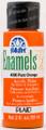 FolkArt ® Enamels™ - Pure Orange, 2 oz.