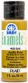 FolkArt ® Enamels™ - Metallic Gold, 2 oz.