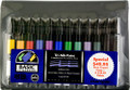 Chartpak Basic 12pc Marker Set w/ Travel Case