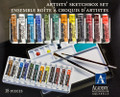 Grumbacher Academy Watercolor Aquarelle Set of 18 colors