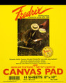 Fredrix® Canvas Pad 8 x 10 inches 10 sheets