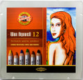 Koh-i-noor Wax Aquarelle Pencils 12 colors