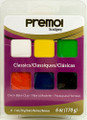 Premo! Sculpey® Accents 6 Color Sampler Pack - Classics