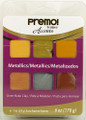 Premo! Sculpey® Accents 6 Color Sampler Pack - Metallics