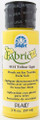FolkArt ® Fabric™ Paint - Brush On - Yellow Light 2oz