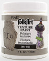 FolkArt ® Texture Paint - Gray 4 oz.