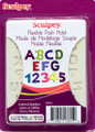 Sculpey® Push Mold-Letters & Numbers