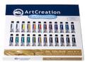 ArtCreation Oil Color Set of 24 colors (12ml tubes)