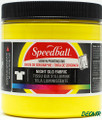 Speedball Screen Printing Ink Glow in the Dark Yellow 8 oz