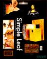 "Mona Lisa Simple Leaf 5.5""x5.5"" Variegated Firelight 6 sheets No. 10036"