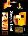 "Mona Lisa Simple Leaf 5.5""x5.5"" Variegated Caribbean  6 sheets No. 10038"