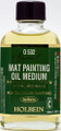 Holbein Mat Painting Oil Medium 55ml