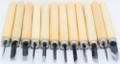 U-Art Wood & Linoleum Engraving Tools Set of 12