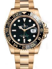 Rolex GMT-Master II Gold 116718 Black