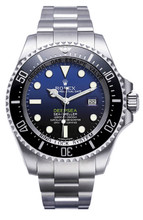 Rolex Pre-Owned Deepsea Custom Blue Dial 116660