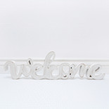 20x6.5x.5 wd cutout (WELCOME) wh