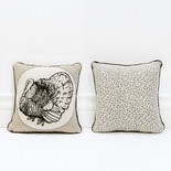 9x9x4 canvas pillow (TURKEY) bn/wh/gy
