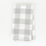 17x24 hand towel (BFL CHK) gr/wh