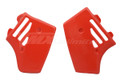 Radiator Shrouds 84-85 YZ250 Red