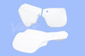 Side Panel Set 82 YZ125 White (3 piece)