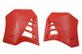 Radiator Shrouds 86-87 YZ250 Red