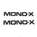 "Yamaha Swing Arm Decal ""MONO-X"" 1981"