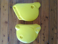 Side Panels 1979 Yamaha YZ80 In Yellow
