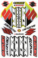 SUZUKI DR STICKER KIT SIZE: 565mm x 355mm