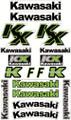 KAWASAKI KX STICKER KIT SIZE: 565mm x 355mm