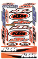 KTM STICKER KIT SIZE: 565mm x 355mm