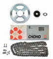 CHOHO CT110 X-RING CHAIN (C428HX) & SPROCKET KIT PRE 99