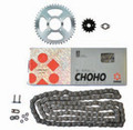 CHOHO CT110 HEAVY DUTY CHAIN (C428H) & SPROCKET KIT 99 - ON
