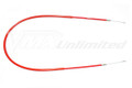 Front Brake Cable Maico 80-84 Red