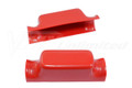 Number Plate Bracket Universal Red