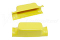 Number Plate Bracket Universal Yellow