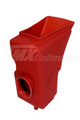 Air Box Maico 80-81 Red