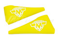 Lever Covers Yellow with Maico Logo