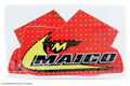 "Tank Decal Set 81 Maico ""Swoosh"" design full cover, perforated MXM"