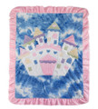Magic Castle Appliqué Blanket