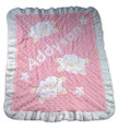 Baa Baa Baby Sheep Appliqué Blanket